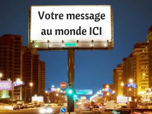 votre-message-au-monde-ici