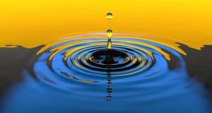 impacter comme la goutte d'eau